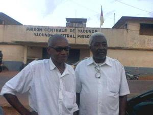 enoh outside prison after his release