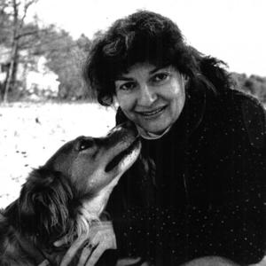 Jane Kenyon and dog