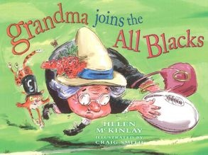 Grandma Joins the All Blacks cover