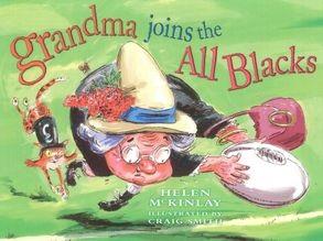 Grandma Joins the All Blacks cover